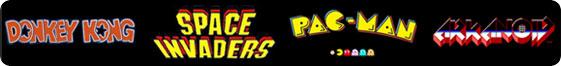 Arcade Game Logos