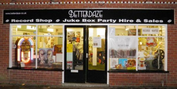 Betterdaze Record Shop Exterior