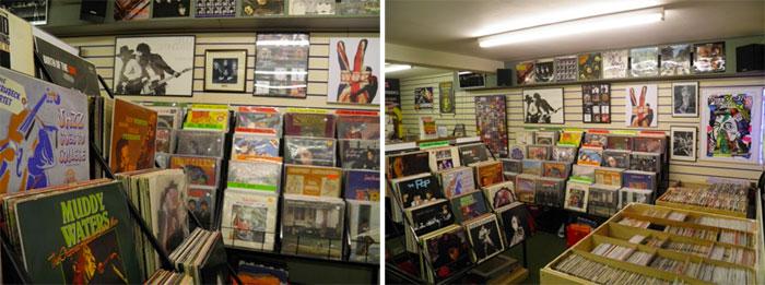 Betterdaze Record Shop Interior
