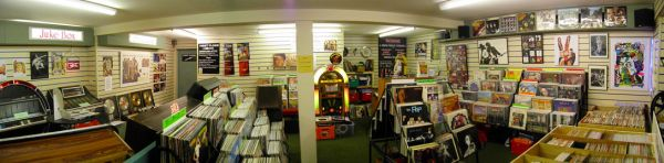 Betterdaze Record Shop Interior