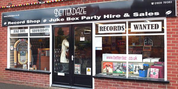 Betterdaze Shop front 2017