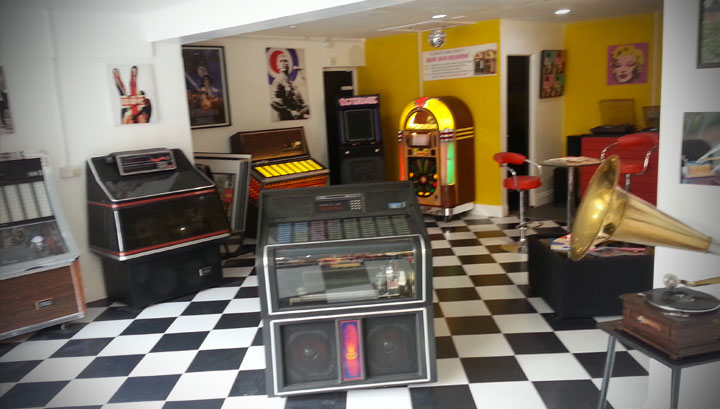 Betterdaze Juke Box Showroom